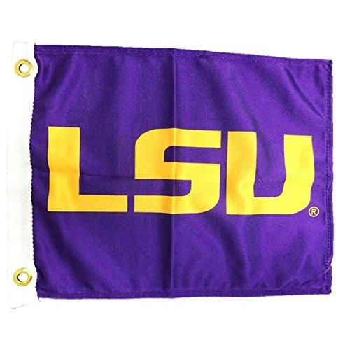 NCAA LSU Fightin Tigers Boat/Golf Cart Flag