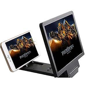 TIEM Enlarged Screen 3D Glass Magnifier Folding Portable Bracket for Mobil Phone