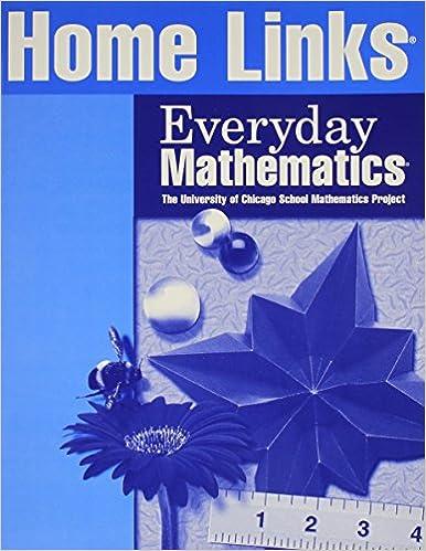 Everyday Mathematics Home Links Grade 2 ELC