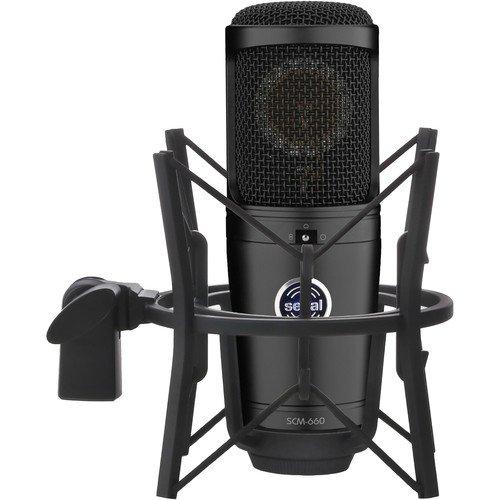 (Senal SCM-660 Large-Diaphragm Multi-Pattern Condenser Microphone -)