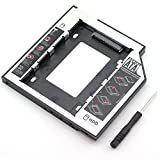 ZRM&E Universal 9.5mm Second HDD Caddy SATA 3.0 Hard Drive Adapter SSD HDD Hard Disk Enclosure Case For Laptop Optical Drive Bay
