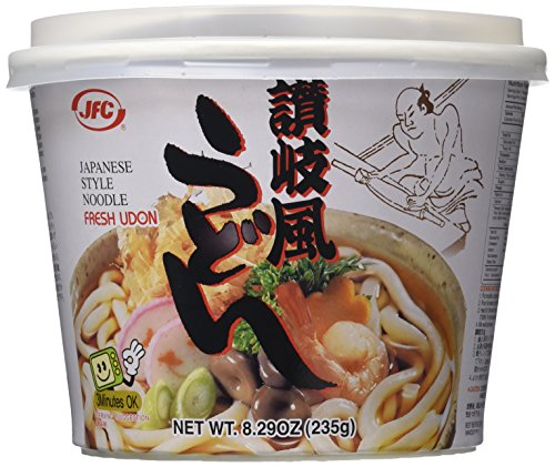 JFC Fresh Udon Bowl, 8.29-Ounce Containers (Pack of 6)