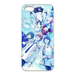 Anime Angel Beats iPhone5s Cell Phone Case White TPU Phone Case SV_136402