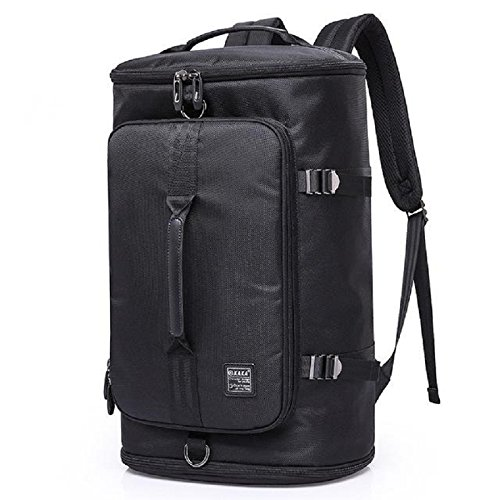 MOCA Unisex Kaka Series 35 Litre Oxford Fabric Black Backpack  Amazon.in   Bags 22cd5011fd618