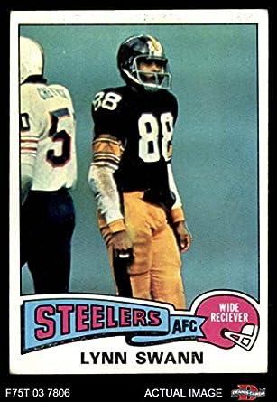 1975 Topps   282 Lynn Swann Pittsburgh Steelers (Football Card) Dean s  Cards 4 - d323b85e1