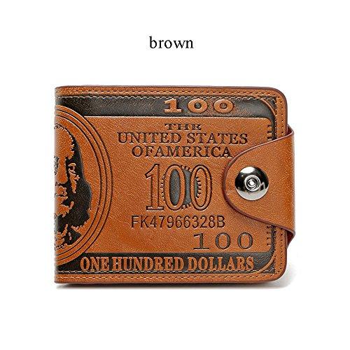 Men S Novelty Us 100 Dollar Wallet Bill Money Billfold