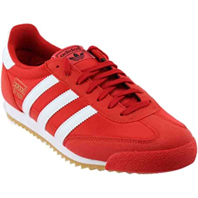 ada41f25e69 adidas Mens BY9701 Dragon Og Red Size  13.5 UK  Amazon.co.uk  Shoes ...
