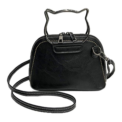 Messenger Bag,VESNIBA Women Handbags Cat Ear Handle Pattern Shoulder Crossbody Bags