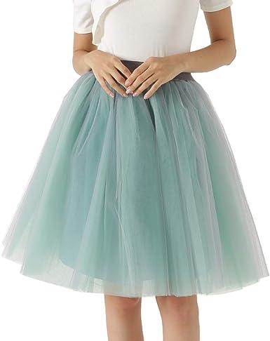 Happy Cherry - Vestido de Tul para Mujeres Faldas Princesas Azul ...