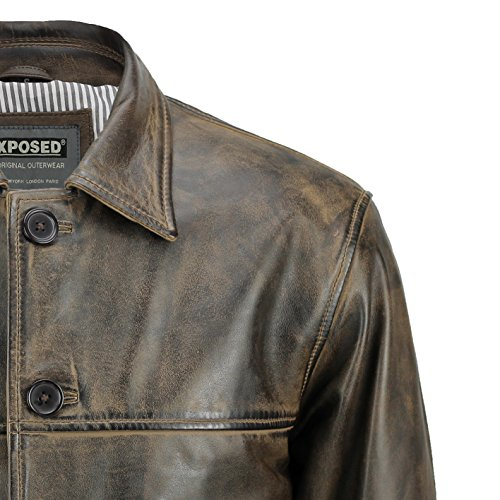 Homme Xposed Xposed Blouson Caban Blouson n0qHpFqwa