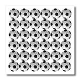 Sandy Mertens Soccer Ball Pattern Iron on Heat Transfer Paper, 8 by 8-Inch