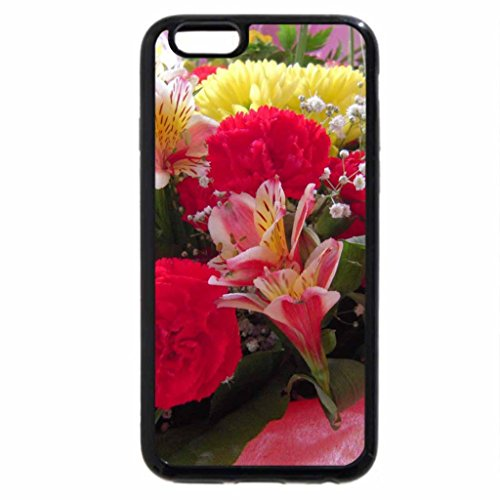 iPhone 6S / iPhone 6 Case (Black) Bouquet of beautiful flowers