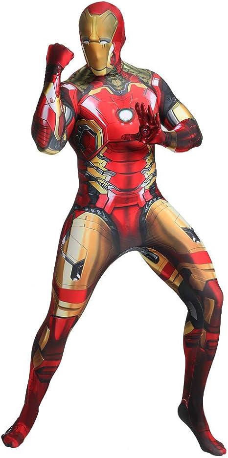 FYBR Disfraz de Iron Man SuperSkin para adulto, unisex, para ...