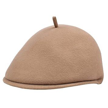 499d8e27c Amazon.com: YC° Autumn Winter Berets, Men Women Fashion Wool Hats to ...