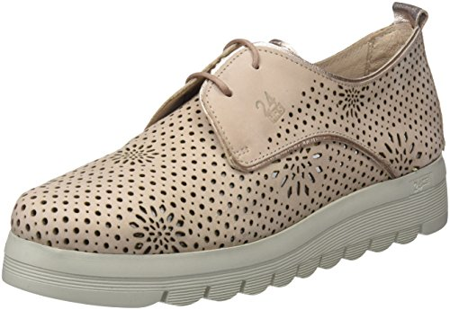 24 HORAS 23573, Scarpe Stringate Oxford Donna Rosa (Nude 8)