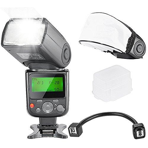 NEEWER NW670 E-TTL LCD SpeedliteフラッシュとオフカメラフレクシブルTTLフラッシュアームキットの商品画像