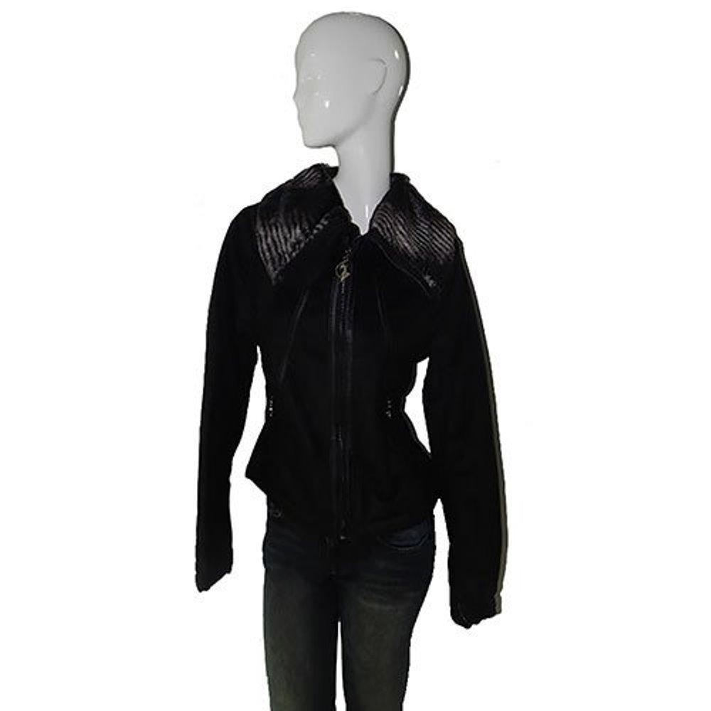 Baby Phat Wool Winter Coat in black, 1162BP