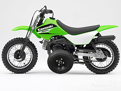Adjustable Height Kawasaki KDX50 KDX 50 Kids Youth TRAINING WHEELS ...