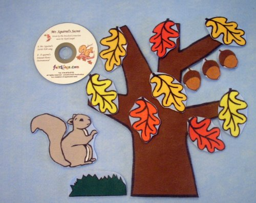 Squirrels Secret Flannel Board Story