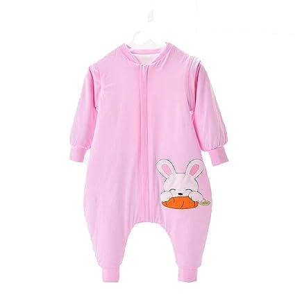 CWLLWC Saco de Dormir para bebé,Saco de Dormir de algodón bebé Fractura Pierna niños