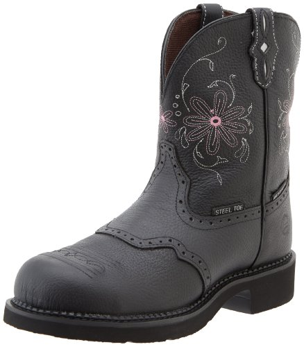 "Justin Boots Women's Gypsy Collection 12"" Soft Toe ,Aged Bar"