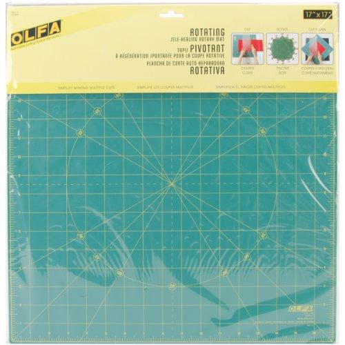 Olfa Spinning Rotary Mat-17''X17'' by OLFA
