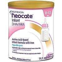 Neocate 婴儿 DHA/ARA,14.1 盎司/ 400 克(4 罐)