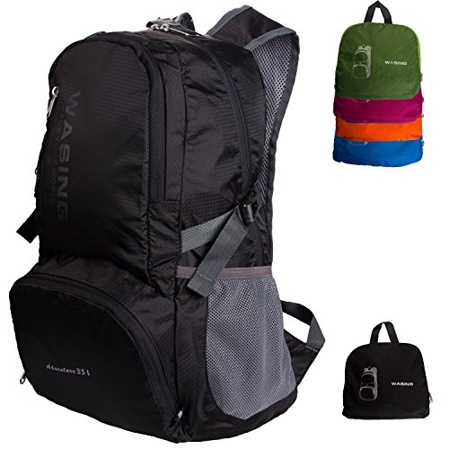 WASING-35L-Ultra-Lightweight-Water-Resistant-Packable-Backpack-Travel-Hiking-Daypack