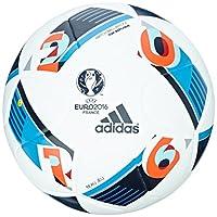 adidas Herren Ball EURO 2016 Top Replica X, White/Bright Blue/Night Indigo,...