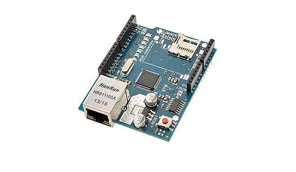 Amazon com: (For Arduino) Ethernet Shield with Wiznet W5100