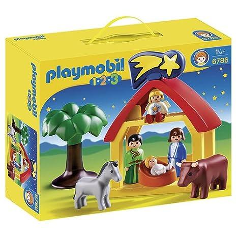 PLAYMOBIL Christmas Manger Playset Toys Kids Toy