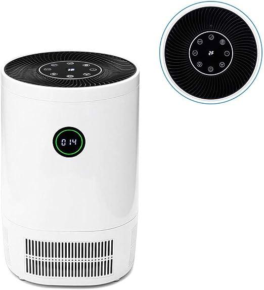Aire Ionizador Purificador con Filtro HEPA For Eliminar El Olor De ...