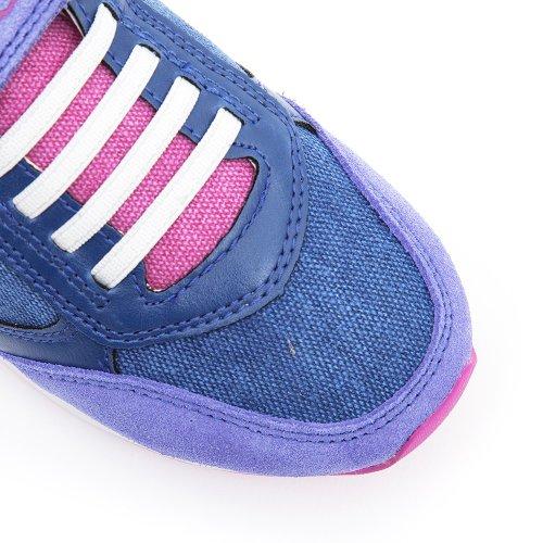 Geox J Eliott A - Zapatillas de Deporte de otras pieles niña azul cobalto