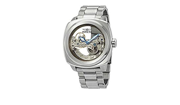 Amazon.com: Invicta Aviator Automatic Silver Dial Mens Watch 25234: Watches