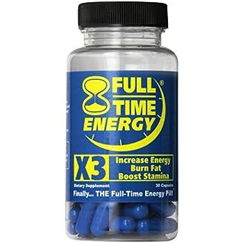 Amazon.com: Full-Time Energy X3 - 30 Capsules - Increase