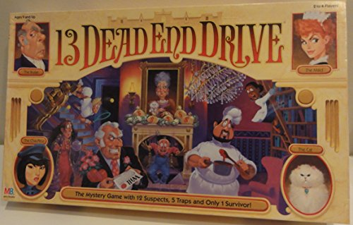 13 Dead End Drive Board Game by Milton Bradley by Milton Bradley