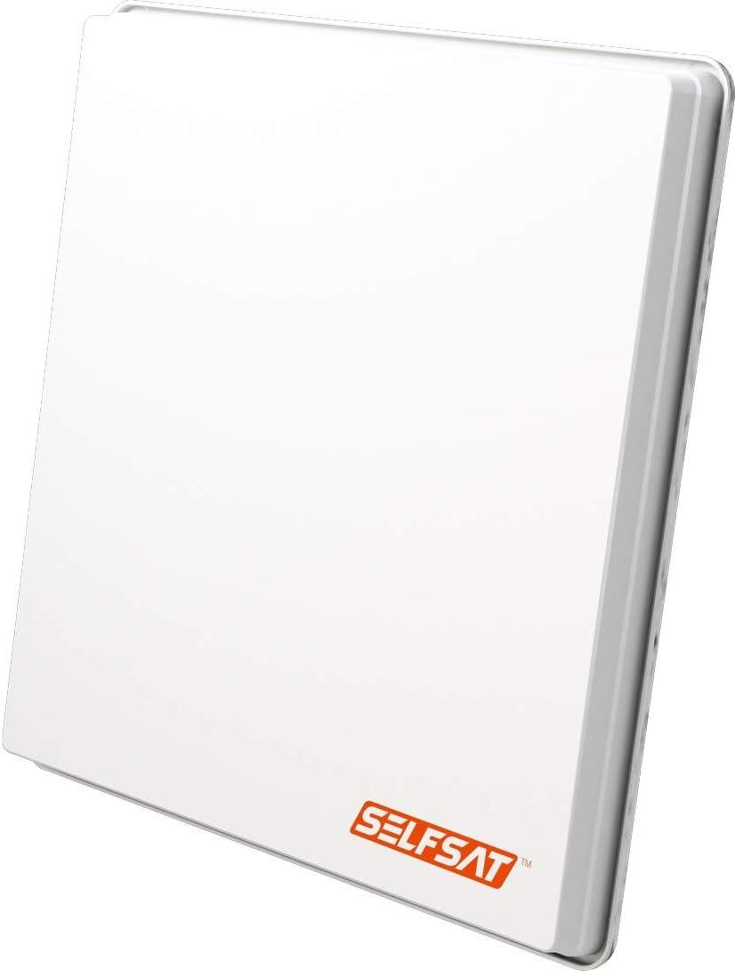 Antena Selfsat H50dCSS Unicable 2 Incl. 2 Salidas Legacy ...