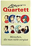 Quartett für 2-4 Spieler, ab 3 Jahren, 32 Karten 9,5 x 6 x 1,3 cm • 66082 ''Loriot Quartett'' von Inkognito • Künstler: INKOGNITO © Loriot • Games • Kartenspiele