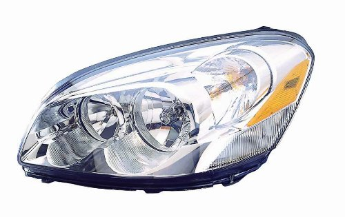 Depo 336-1117L-ASN Buick Lacerne Driver Side Replacement Headlight Assembly with Cornering Lamp