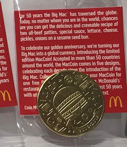 McDonald's 2018 BIG MAC 50TH ANNIVERSARY COIN 2008 - 2018 by McDonald's