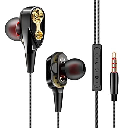 Auriculares Oneplus 5T con microfono Dual Dynamic Drivers in-Ear Estereo Cascos Oneplus 5T Auriculares