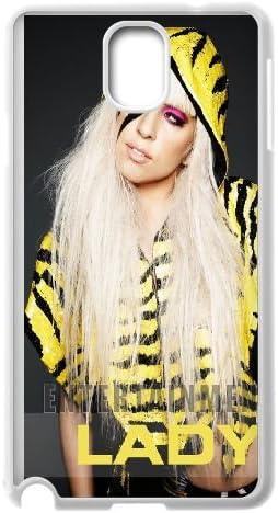Lady-Gaga Samsung Galaxy Note 3 teléfono celular caso blanco lirs: Amazon.es: Electrónica