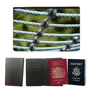 Passeport Voyage Couverture Protector // M00290394 Zona de juegos aparatos de gimnasia // Universal passport leather cover