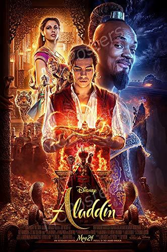 - MCPosters - Disney Aladdin 2019 Glossy Finish Movie Poster Certified Print by PosterTodayUSA - CIN002 (24
