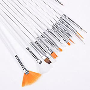 15 Nail Art Painting Pen Brush Set H2008
