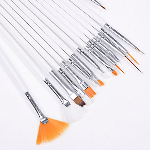 15 Nail Art Painting Pen Brush Set H2008