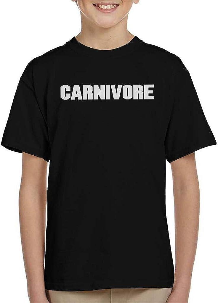 Carnivore Block Text Kids T-Shirt