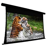 ELUNEVISION EV-T3-106-1.0 Projection Screen Motorized 110V, Black