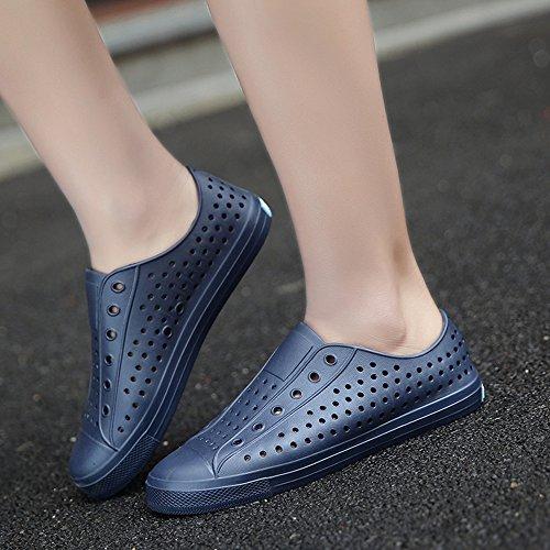 Moda JOJONUNU Blue Piatto Uomo Sandali xSp78Xq