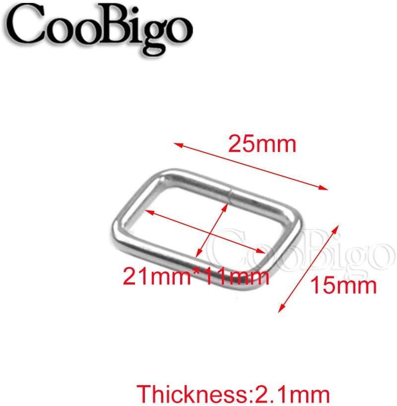 Black 5 Pack 5//8 Metal Side Release Buckles for Paracord Bracelets